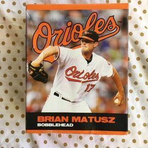 NEW Brian Matusz Baltimore Orioles Bobblehead